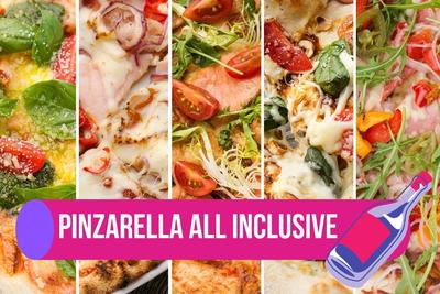 5 неаполітанських піц і вино за 549₴
